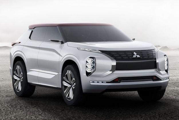 Mitsubishi GT-PHEV Concept, prove di nuovo Outlander con il suv ibrido? [FOTO]