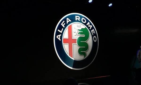 NUova Logo Alfa Romeo Giulia 2015