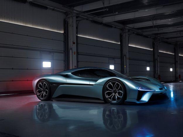 NextEV NIO EP9, scheda tecnica e prestazioni della supercar elettrica [FOTO]