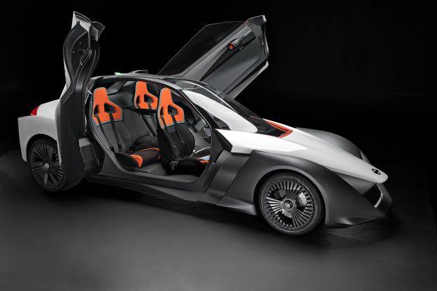 Nissan BladeGlider: futuristica sportiva elettrica