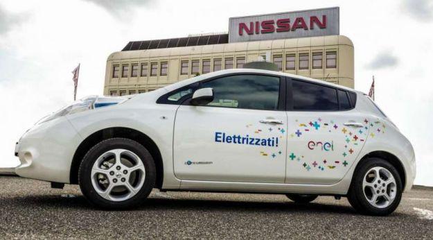Nissan Leaf Enel Edition: versione speciale per l'Italia, da 36.385 euro [FOTO]