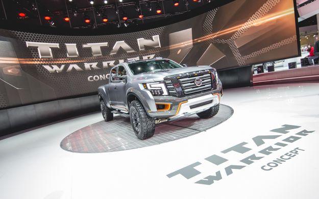 Nissan Titan Warrior Concept Detroit 2016 concept più belli