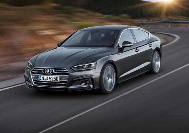 Nuova Audi A5 Sportback 2017: prezzo e dimensioni. Presto anche G-Tron a metano [FOTO]