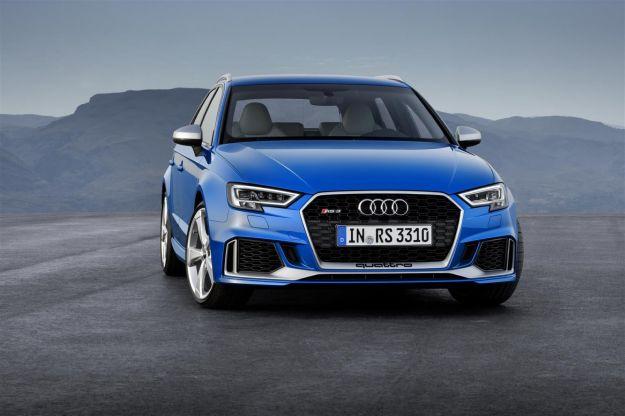 Nuova Audi RS3 Sportback 2017: scheda tecnica, uscita e prestazioni [FOTO]