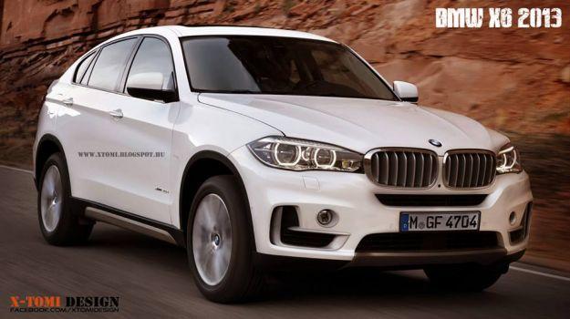 Nuova BMW X6 2015: rendering della prossima generazione [FOTO]