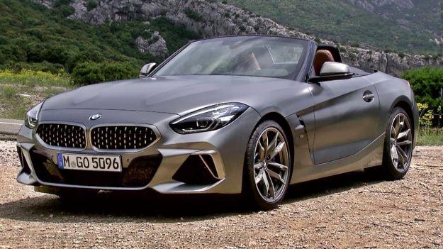 Nuova BMW Z4 2019 foto