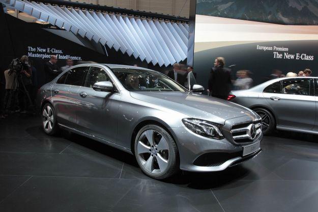 Nuova Mercedes Classe E 2016 al Salone di Ginevra