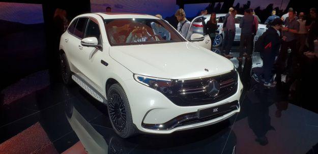 Nuova Mercedes EQC: il SUV elettrico tedesco si presenta a Stoccolma