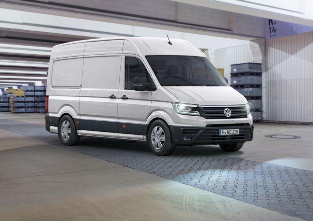 Volkswagen Crafter: presentata la nuova generazione con vano di carico più ampio