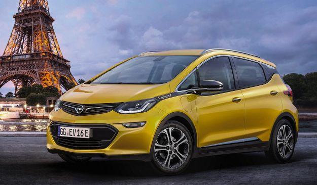 Opel Ampera E nuove monovolume 2017