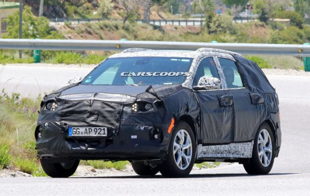 Opel Antara foto spia 1