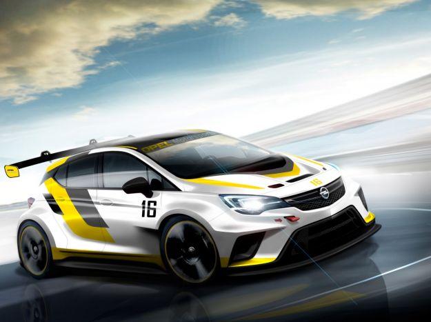 Opel Astra TCR: prezzo e prestazioni della versione da corsa [FOTO]