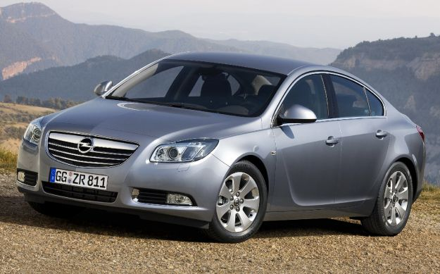 Opel Insignia, anteriore