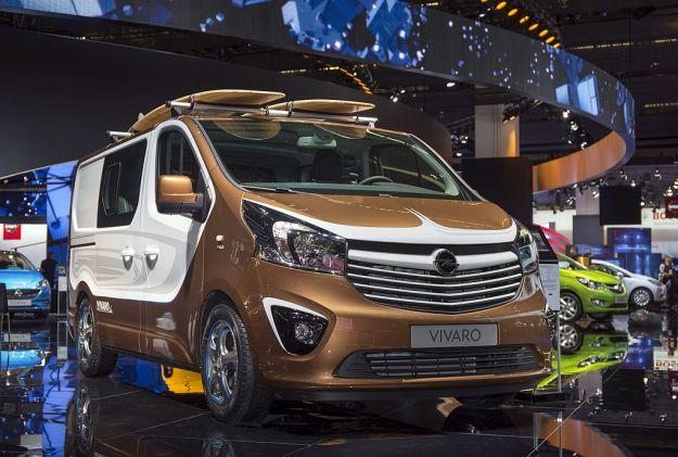 Opel Vivaro Surf Concept Francoforte 2015