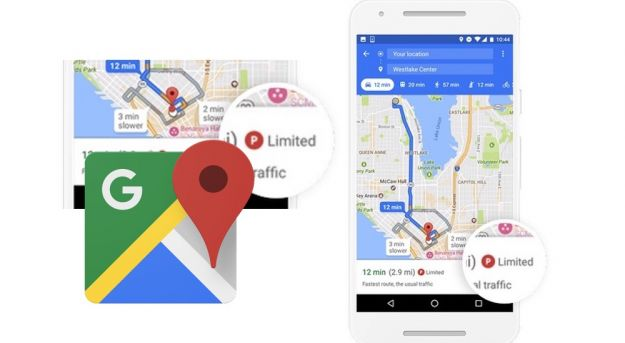 Parking Difficulty su Google Maps