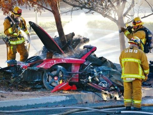 Paul walker incidente
