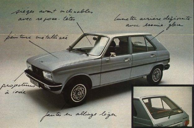 "Peugeot 104 ""Sundgau"", la prima serie speciale limitata"