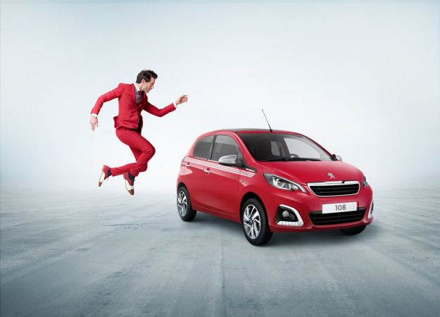 Peugeot 108 Collection: Mika diventa testimonial