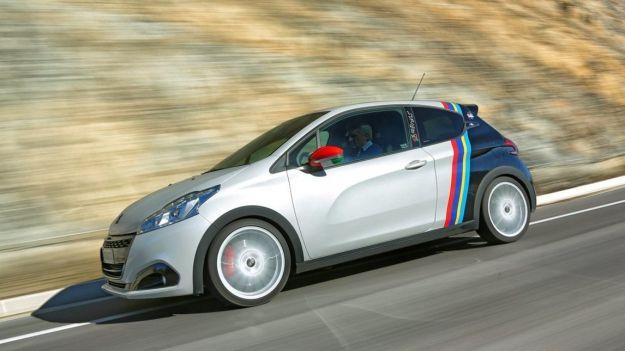 Peugeot 208 GTi/NOVE: l'edizione speciale che celebra Andreucci e Andreussi