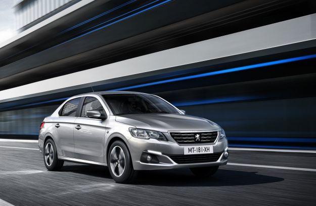 Peugeot 301 restyling 2017, novità su infotainment e design [FOTO]