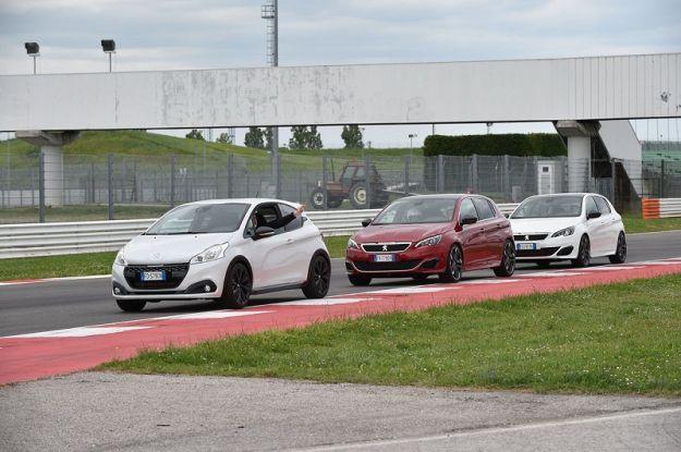 Peugeot 308 GTi by Peugeot Sport ti porta in pista con Andreucci