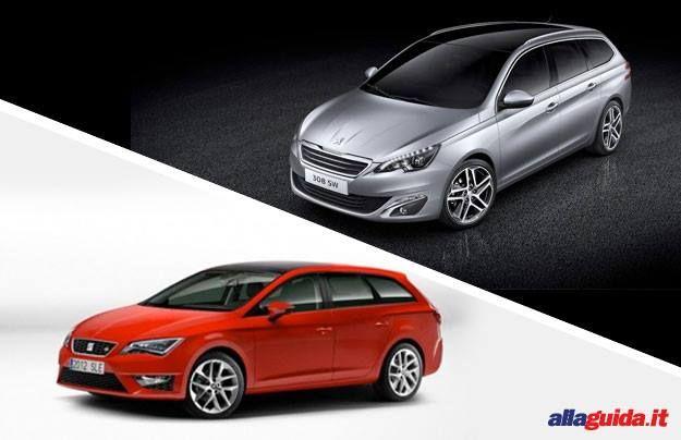 Peugeot 308 SW VS. Seat Léon ST: confronto a suon di spazio e stile [FOTO e VIDEO]