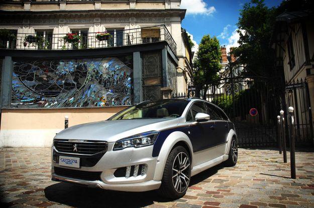 Peugeot 508 RXH Castagna Gris: nuovo esemplare di altissima classe [FOTO]