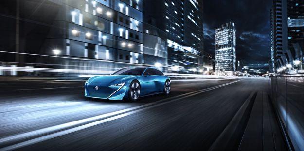 Peugeot Instinct Concept: l'auto del futuro, una shooting brake a caro prezzo [FOTO]