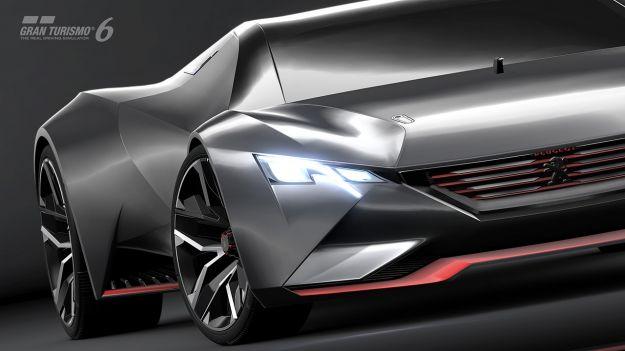 Peugeot Vision GT concept, prestazioni da F1 [FOTO e VIDEO]