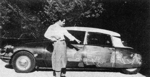 La Citroën DS dipinta da Pablo Picasso