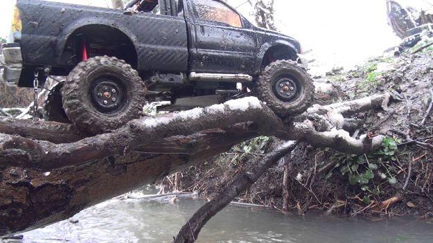 Pickup sulla neve