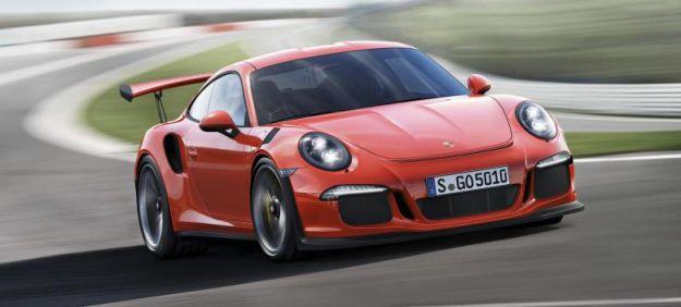 Porsche 911 GT3 RS LIVE da Ginevra 2015: più leggera e con l'aerodinamica dedicata [FOTO]