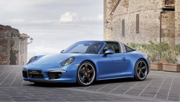 Porsche 911 Targa 4S limited edition Porsche Italia