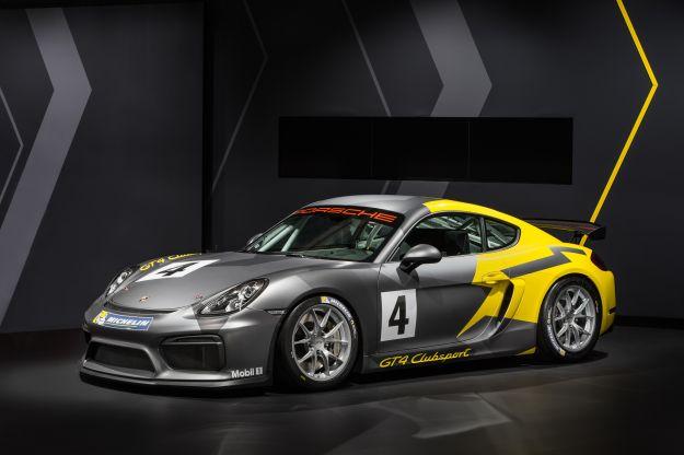 Porsche Cayman GT4 Clubsport, da Los Angeles alla pista [FOTO]