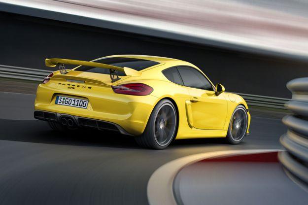 Porsche Cayman GT4 Ginevra 2015 09