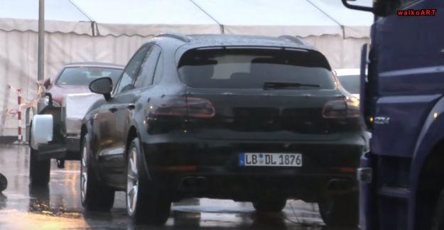 Porsche Macan restyling 2018