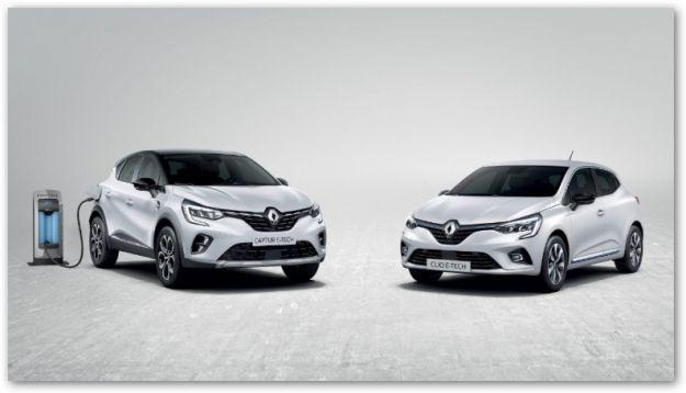 Renault Clio e Captur diventano ibride con il motore E-TECH