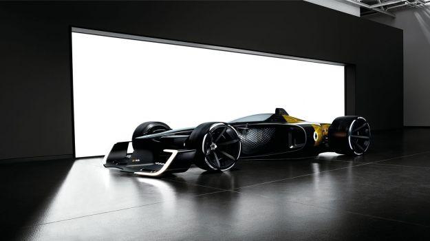Renault R.S. 2027: anticipa le F1 del futuro al Salone di Shanghai 2017 [FOTO]