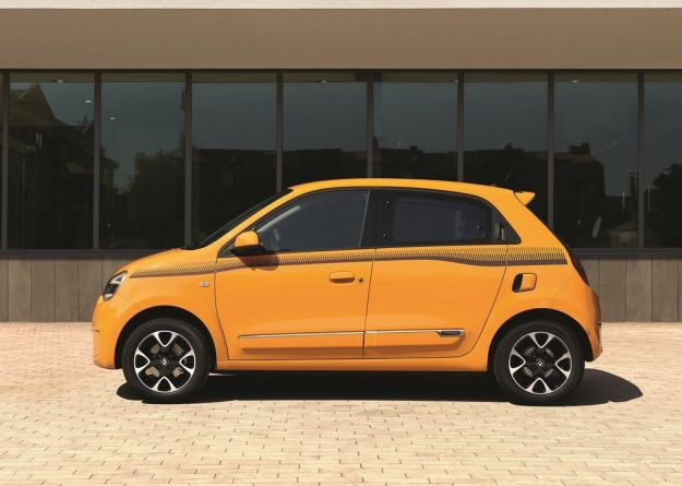 Renault Twingo 2019 di profilo