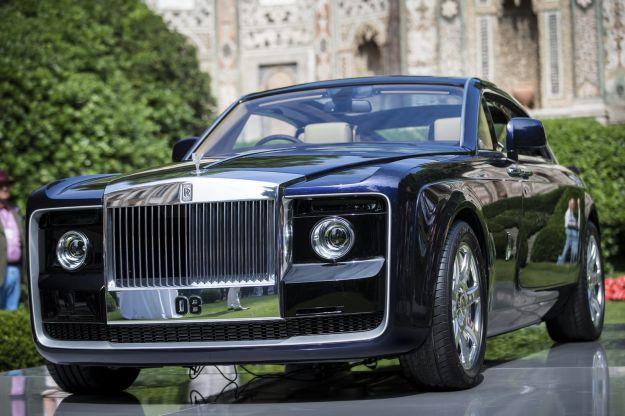 Rolls Royce Sweptail al Concorso di Villa d'Este 2017: cucita su misura [FOTO]