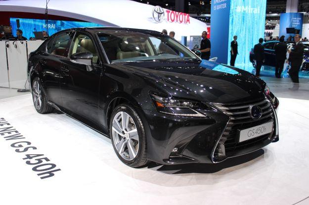 Lexus GS 2017: F, 300h e 450h Hybrid. Niente trazione AWD [FOTO]