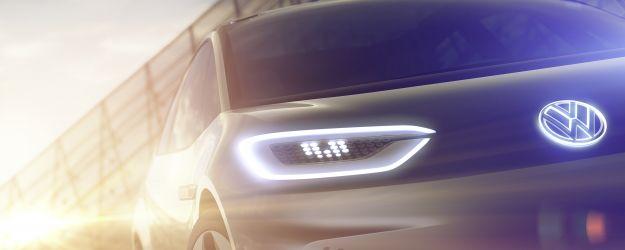 Volkswagen Teaser elettrica Salone di Parigi 2016