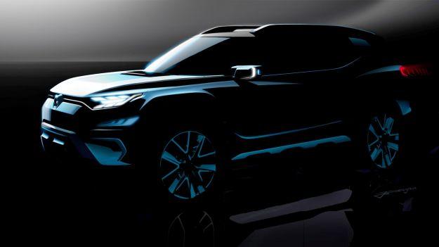 SsangYong XAVL Concept 2017: un SUV di taglia grande dalla Corea [FOTO]