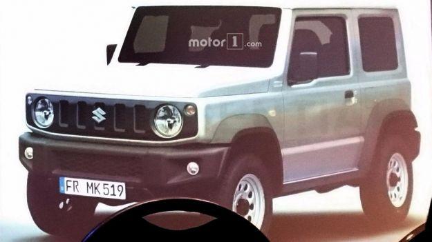 Suzuki Jimny 2018: foto spia in rete del nuovo modello