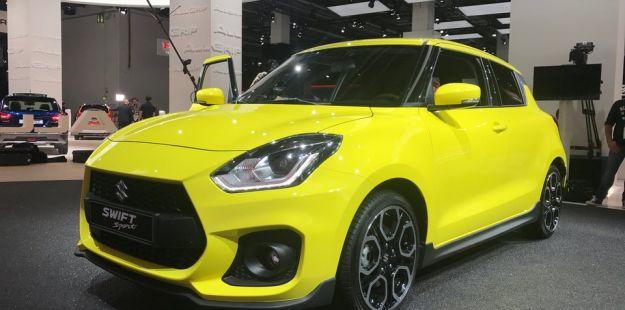Suzuki Swift Sport: al Salone di Francoforte 2017 con il nuovo motore 1.4