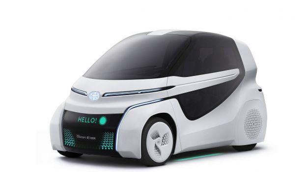 Toyota Concept-i RIDE e Concept-i WALK, al Salone di Tokyo 2017 idee di mobilità alternativa [FOTO]
