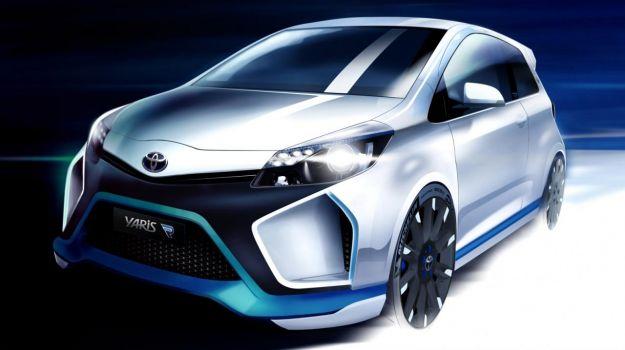 Toyota Yaris Hybrid-R Concept: ecologica e sportiva a Francoforte [FOTO]