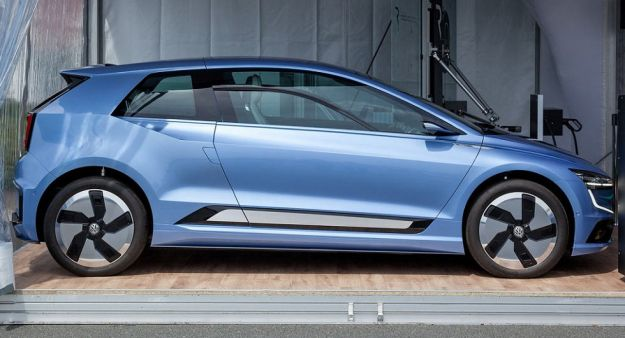 Volkswagen Gen.E Concept 2017: la berlina elettrica da 400 km di autonomia [FOTO]