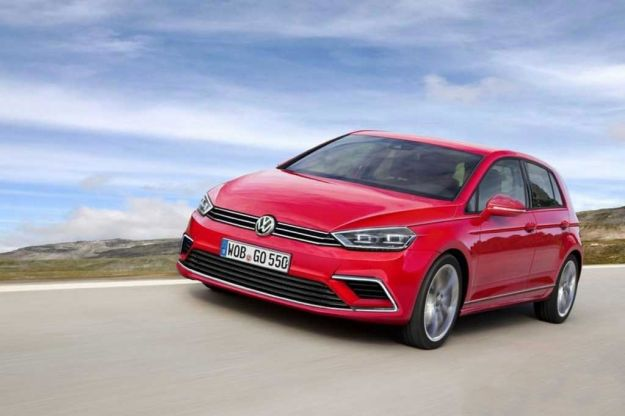 Volkswagen Golf 8 render
