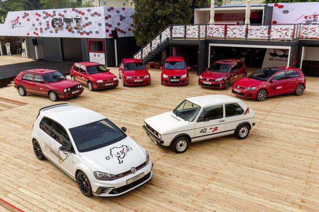 Volkswagen Golf GTI ad Auto e moto d'epoca 2016: festa per i 40 anni